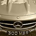 Mercedes Benz 300 Sl Roadster 1957 by Maj Seda