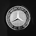 Mercedes-benz 6.3 Gullwing Emblem by Jill Reger