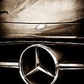 Mercedes-benz Grille Emblem by Jill Reger
