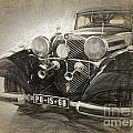 Mercedes Benz Vintage by Perry Van Munster