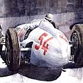 Mercedes Benz W 154 1938 M Von Brauchisch by Yuriy Shevchuk