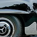 Mercedes-benz Wheel Emblem by Jill Reger