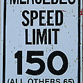 Mercedes Speed Limit 150 by George Pedro
