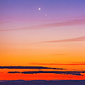 Mercury & Venus Conjunction Closeup by Alan Dyer