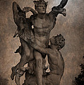 Mercury Carrying Eurydice To The Underworld by Loriental Photography