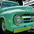 Mercury Truck Bw Background by Randy Harris