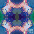 Merging Fantasies Abstract Pattern Artwork By Omaste Witkowski by Omaste Witkowski