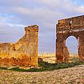 Merinid Tombs Ruins In Fes In Morocco by Karol Kozlowski