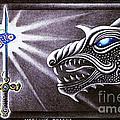 Merlin's Dragon by Hartmut Jager