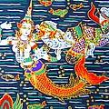 Mermaid And Beast  by Yelena Wilson