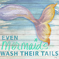 Mermaid Bath II by Elizabeth Medley