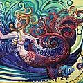 Mermaid Gargoyle by Genevieve Esson