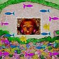Mermaid In Her Cave by Pepita Selles