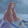 Mermaid In Moonlight by Julie Brugh Riffey