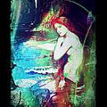 Mermaid Of The Tides by Absinthe Art By Michelle LeAnn Scott