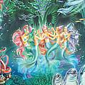Mermaids Danicing by Zorina Baldescu