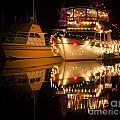 Merry Christmas Bandon By The Sea 1 by Bob Christopher