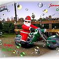 Merry Christmas  Seasons Greetings  Happy New Year by Joyce Dickens