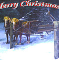 Merry Christmas Sleigh by Harriett Masterson