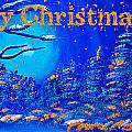 Merry Christmas Wish V2 by Alex Art and Photo