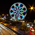 Merry Ferris Wheel by Troy Espiritu