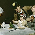 Merrymakers by Charles Emile Auguste Carolus-Duran