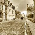 Merton Street Oxford by Chris Day