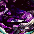 Mesmerize Purple by Angela Rath