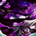 Mesmerize Purple II by Angela Rath