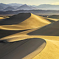 Mesquite Dunes And Grapevine Mountains 11 by Jim Dollar