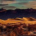 Mesquite Flat Sunrise by Mark East