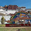 Message Of Joy From Potala Palace In Lhasa-tibet  by Ruth Hager