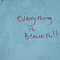 Message On The Stall by Cecelia Helwig