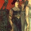 Messalina by  Henri de Toulouse Lautrec