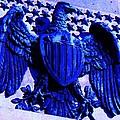 Metal American Eagle Symbol by Eric  Schiabor