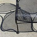 Metal Chair And Shadow 3 by Anita Burgermeister