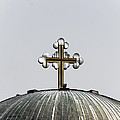 Metal Cross by Sotiris Filippou