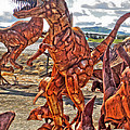 Metal Dinosaurs - 03 by Gregory Dyer