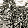 Metal Dinosaurs - 04 by Gregory Dyer