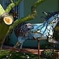 Metal Horse Sculpture by Richard Jenkins