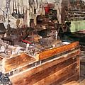 Metal Machine Shop by Susan Savad