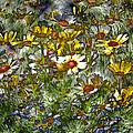 Metal Sunflowers by James Steele