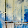 Metal Wall Pipes And Paint In Havana Cuba by Rob Huntley