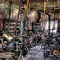 Metal Worker - Belts And Pullies by Mike Savad