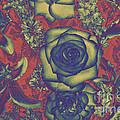 Metalic Rose by Mae Wertz