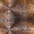 Metallic Pattern by Karol Sloyan