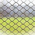 Metallic Wire Fence by Alain De Maximy