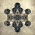 Metatron's Cube Silver by Filippo B