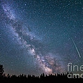 Meteor Milky Way  by Michael Ver Sprill