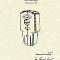 Meter Housing 1937 Patent Art by Prior Art Design